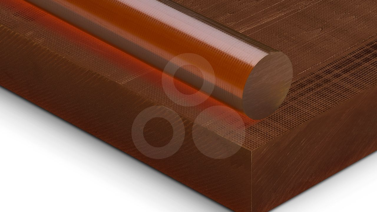 PEI Polyetherimide Plastic Material TECAPEI natural