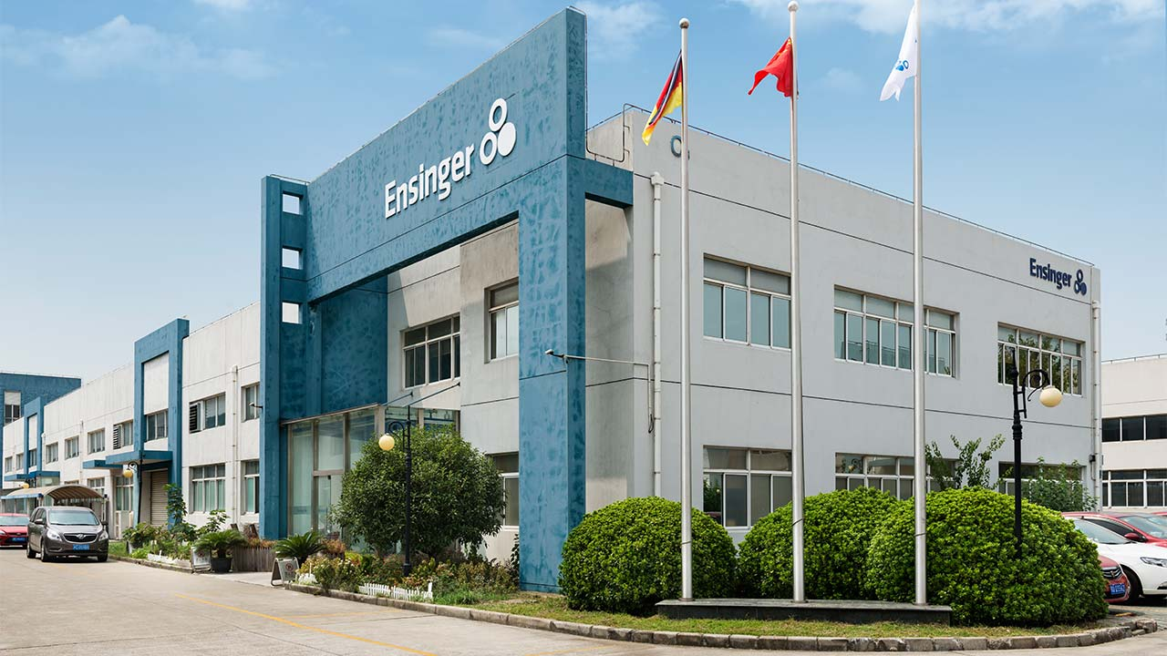 Ensinger China entrance and building